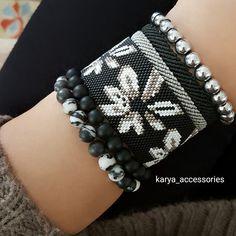 Kışın da çiçekli bileklik takılır ... #miyuki #miyukibileklik #miyukiboncuk #miyukikolye #miyukiküpe #takı #bileklik #trend #tasarım #özeltasarım #sipariş #siparişalınır #hediyelik #hediyelikeşya #aksesuar #gümüş #siyah #beyaz #gri #çiçek #tagsforlikes #igers #accessories #beauty #fashion