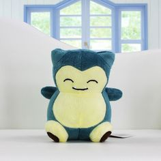 Pokemon Snorlax Toys 14cm Stuffed Plush Doll Retail