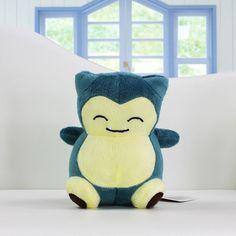 Pokemon Snorlax Toys 14cm Stuffed Plush Doll Retail