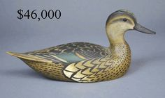 Ward Brothers Green Wing Teal Hen