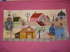 petites maisons/little houses quilt