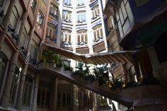 Interior de La Pedrera, Barcelona #lapedrera #barcelona