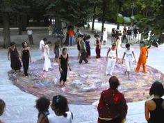 MANDALA  Con-Ta-Ci è una condivisione. Non un gruppo artistico, ma un'azione condivisa. Ideata da Tiziana Tacconi, unisce artisti terapisti ed operatori medici, nell'opera condivisa.