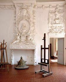 Picasso's studio, Aix en Provence - Chateau de Vauvenargues