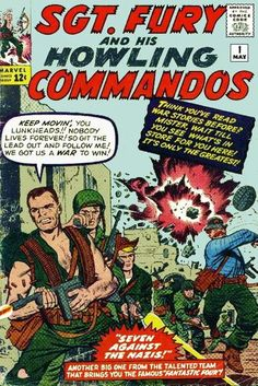 1963 Alley Award, Mundane Fiction - Sgt. Fury and His Howling Commandos  (Marvel Comics)