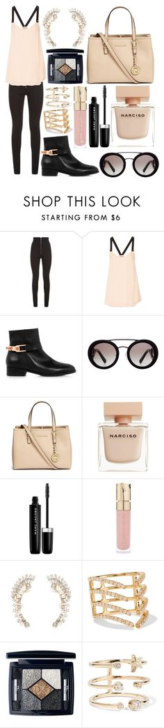 """""""Untitled #335"""" by larryisrealforever ❤ liked on Polyvore featuring Balmain, 10 Crosby Derek Lam, Eugenia Kim, Prada, Michael Kors, Narciso Rodriguez, Marc Jacobs, Smith & Cult, Charlotte Russe and Khai Khai"""