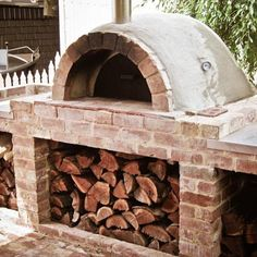 Pizza oven. The opening is a little large, but it's the kind of quality I could actually build myself.