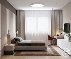 Home Decoration Accessories Ltd Bedroom Bed Design, Modern Bedroom Design, Home Bedroom, Bedroom Decor, Studio Interior, Apartment Interior, Interior Design, Bedroom Layouts, Home Decor Furniture