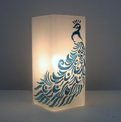 Pretty sure I can do something similar with our existing ikea lamp shades...
