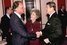 Billy knew President Ronald Reagan since the year he married Nancy.
