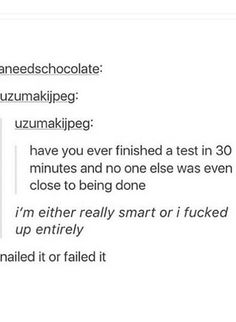 Nailed it or failed it