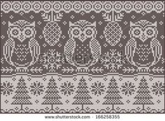 Owl Embroidery Stock Photos, Images, & Pictures | Shutterstock