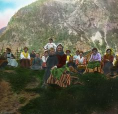 Lantern Slides of Norway (ca.1910) | The Public Domain Review