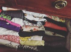 Tidying Chronicles: How I organised my clothes!