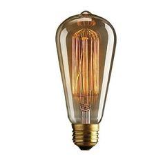 Lampada Tomas Edison E27 - 40w -110v Super Lindas(classicas) - R$ 29,99 no MercadoLivre