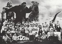 Cast photo for KING KONG ESCAPES