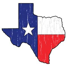Texas Cutout Wooden Ornament