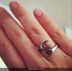 Engagement Ring of Mechanical Engineer