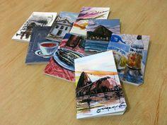 Cadernetas com a arte de nosso Amigo Jorge Grisi!