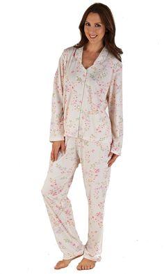 ee9503d1a2 Pyjamas. Slenderella Floral Print ...