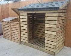 Created by 18 year old Joshua Cattermole @ Longsight Nursery & Landscapes Ltd Ribble Valley Lancashire. Outdoor Firewood Rack, Firewood Storage, Firewood Shed, Wood Storage Sheds, Garden Furniture, Outdoor Furniture Sets, Outdoor Decor, Cute Small Houses, Log Store