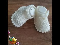 Crochet Slipper Pattern, Crochet Slippers, Baby Booties, Booty, Sweaters, Fashion, Tricot, Shoes, Layette