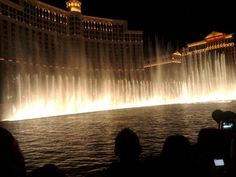 Bellagio Fountains Las Vegas, NV 2010
