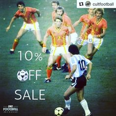 10% off @cultfootball shirts today  link to shop in bio - Beat them like Diego  Last day of our 10% off across store sale gets yours from the link in our Bio  #cultfootball #classicfootballshirts #vintagefootballshirts #retrofootballshirts #manchesterunited #manchestercity #arsenal #chelsea #liverpool #realmadrid #barcelona #valencia #bayernmunich #acmilan #intermilan #juventus #cantona #ronaldo #bergkamp #maradona #zidane #messi
