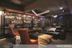 辦公室就像Lounge Bar 承載20年「設計歲月」-設計家 Searchome