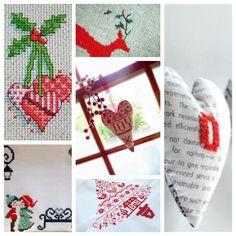 Inspiration: Christmas Cross Stitch — A Sewing Journal
