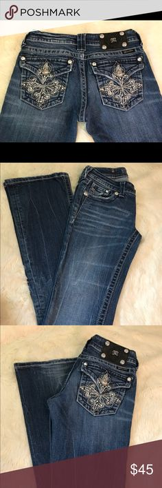 Miss Me Jeans Super Cute- Boot Cut Good Condition Miss Me Jeans Boot Cut
