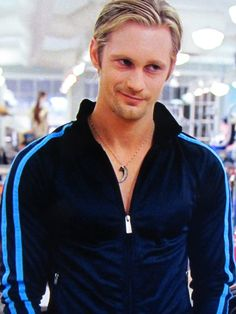 Love that smirk! And the fact that NO other man on earth can turn a track suit into porn. no other.