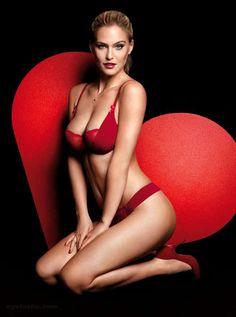 hotisraeligirls: Happy (belated) Valentine's Day from Bar Refaeli