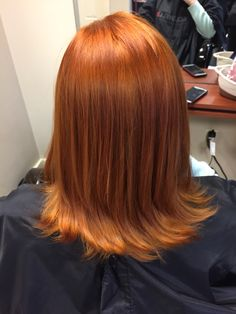 Blonde to red! Goldwell 8OR