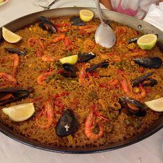 homECooking — #Paella #benidorm #yummy  (en el pescadito)...