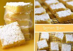 Lemon Bars! Yummm