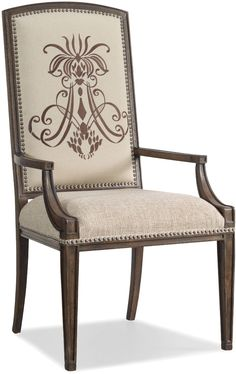 Hooker Furniture Rhapsody Insignia Arm Chair 5070-75400