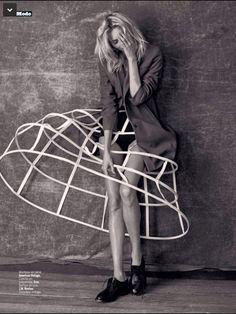 L'express Styles September 2014  The Last Dance Model: Anja Rubik
