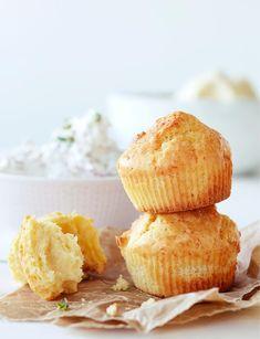 Juustoskonssit | Maku Snack Recipes, Cooking Recipes, Snacks, Antipasto, Scones, Cornbread, Camembert Cheese, Tea Time, Muffin