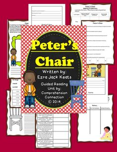 This guided reading unit includes graphic organizers, anchor charts, reading activities, and written response pages to fully teach this book with guided reading groups, as a mentor text for modeling reading skills, or as a prompt for writing. Skills included with this unit are schema building, making predictions, story vocabulary and usage, making inferences using text evidence, visualizing, genre, point of view, and author's purpose, and a reading comprehension quiz.