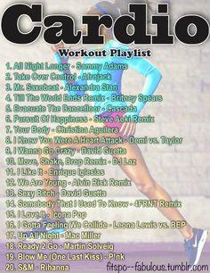 Cardio Workout Playlist