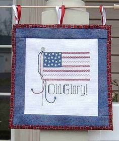 Old Glory Cross Stitch