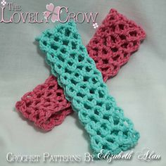 Free Crochet super easy stretchy headband Pattern.