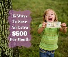 Here is a list of 15 easy ways that you can save an extra $500 per month for just 2 hours of effort. http://thecollegeinvestor.com/16433/save-more-money-each-month/