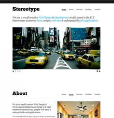 stereotype wordpress theme