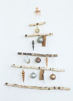 Small Space Christmas Tree - Holiday DIYs That Are So Elevated - Photos