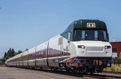 AMTRAK train between Portland and Eugene