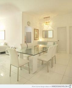 15 Modern Minimalist Dining Room Designs | Home Design Lover