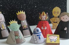 Star Wars Krippe