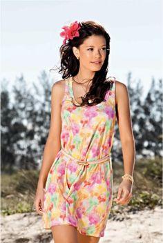 Vestido colorido - Coleção verão/2013